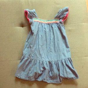 Cherokee Dresses - Adorable denim look dress